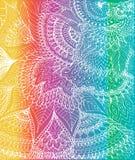 Vector иллюстрация чертежа doodle на яркой предпосылке Стоковая Фотография RF