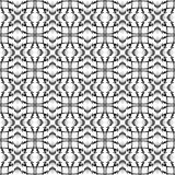 Vector картина, геометрическая безшовная простая черно-белая текстура бесплатная иллюстрация