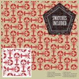 Vector картина омаров для украшения и конструируйте Включенные образцы Стоковая Фотография RF