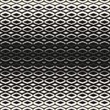 Vector картина полутонового изображения геометрическая безшовная с формами диаманта Сетка полутонового изображения, решетка, fish иллюстрация штока
