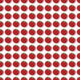 Vector картина с красными томатами на белой предпосылке бесплатная иллюстрация