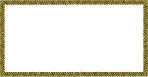 Vector квадратная граница hain ½ ¿ веревочки или ï Стоковая Фотография