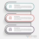 Vector красочные графики информации для ваших представлений дела Стоковые Изображения