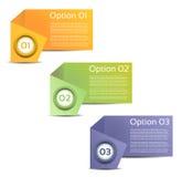 Vector предпосылка прогресса/выбор или версия продукта Стоковая Фотография