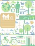 Сохраньте землю Стоковое Изображение