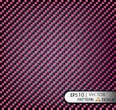 Vector пурпур волокна углерода картины безшовный под маской для продукции фильма с текстурой Стоковая Фотография RF