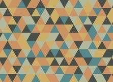 Vector современная красочная картина треугольника геометрии, конспект цвета Стоковые Изображения
