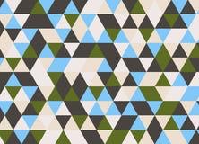 Vector современная красочная картина треугольника геометрии, конспект цвета Стоковое Изображение RF