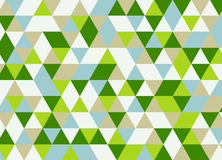 Vector современная красочная картина треугольника геометрии, конспект цвета Стоковое Изображение
