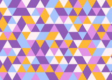 Vector современная красочная картина треугольника геометрии, конспект цвета Стоковые Изображения RF