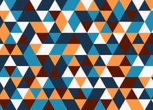 Vector современная красочная картина треугольника геометрии, конспект цвета Стоковые Фотографии RF