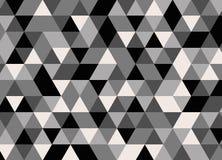 Vector современная красочная картина треугольника геометрии, конспект цвета Стоковая Фотография RF