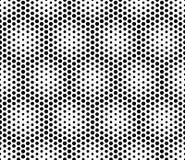 Vector современные безшовные священные точки картины геометрии, черно-белый конспект Стоковые Фото