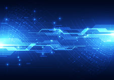 Vector цифровая глобальная концепция технологии, абстрактная предпосылка иллюстрация вектора