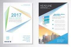Vector шаблон плана дизайна рогульки брошюры, размер A4, титульный лист и задняя страница, infographics Легко для использования и стоковая фотография