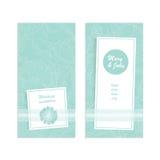 Vector элегантное приглашение свадьбы карточки, карточка даты спасения, спасибо или другое торжество Цветок пионов на нежном Стоковые Изображения