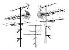 Vector 01 de la antena libre illustration