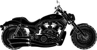 Vector 01 de la motocicleta Imagen de archivo libre de regalías