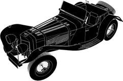 Vector 01 del coche de Oldsmobile stock de ilustración