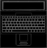 Vector 04 de la computadora portátil del ordenador Fotos de archivo libres de regalías