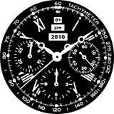 Vector 08 del reloj de reloj Imágenes de archivo libres de regalías
