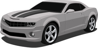 Vector 2009 Camaro Sports Car Royalty Free Stock Image