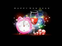 Vector for 2012 happy new year Royalty Free Stock Photos