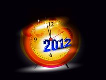 Vector for 2012 happy new year event Royalty Free Stock Photos