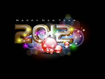 Vector for 2012 happy new year event Stock Photos