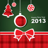 Vector 2013 New Year banner. Vector illustration, Vector 2013 New Year banner royalty free illustration