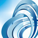 Vector 3d abstract background Royalty Free Stock Image