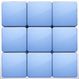 Vector 3d cube background Royalty Free Stock Photo