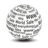 vector 3D globe Stock Photo