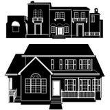 Vector 5 del edificio de residencias libre illustration