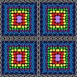 Шарики vector безшовная картина предпосылки Стоковая Фотография RF