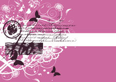Vector. Abstract background banner for your text Stock Photography