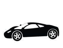 Vector 8 van de sportwagen Stock Afbeelding