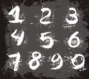 Vector aantallen royalty-vrije illustratie
