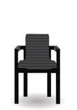 Vector Abbildung ein hölzerner Stuhl Stockbild