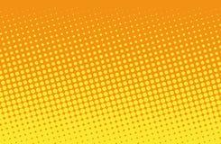 Vector Abbildung mit Platz für Text oder Zeichen Komisches punktiertes Muster Pop-Arten-Retrostil Lizenzfreies Stockbild