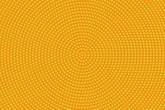 Vector Abbildung mit Platz für Text oder Zeichen Komisches punktiertes Muster Pop-Arten-Retrostil Lizenzfreie Stockbilder