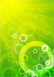 Vector absract green background Stock Photography