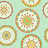 Vector abstact seamless pattern Royalty Free Stock Photography