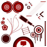 Vector - Abstract 1. Vector Elements stock illustration