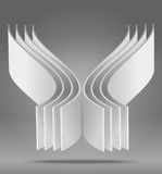 Vector abstract 3D object. The Vector abstract 3D object royalty free illustration