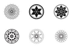 Vector - Abstract ancient symbols. Abstract ancient symbols for vector stock illustration