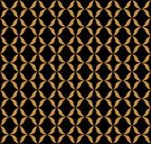 Vector abstract arabesque naadloos patroon Geometrische klassieke achtergrond Uitstekende art decotextuur vector illustratie