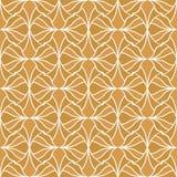 Vector abstract arabesque naadloos patroon Geometrische klassieke achtergrond Uitstekende art decotextuur royalty-vrije illustratie