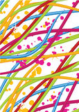 Vector abstract background. For business artworks Royalty Free Stock Photo