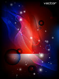 Vector abstract background. Vector vertical background in red, blue and black colors Royalty Free Stock Image